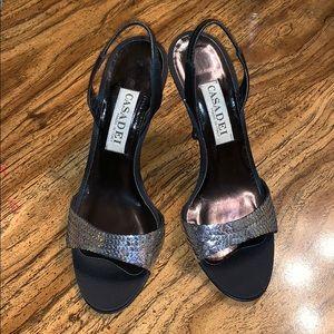 SALE❗️Casadei Vintage Sequin Heels